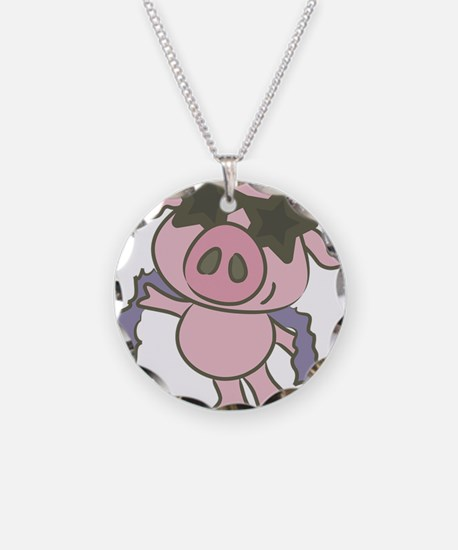 Pig Star Necklace