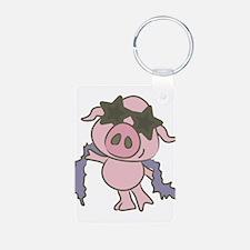 Pig Star Keychains