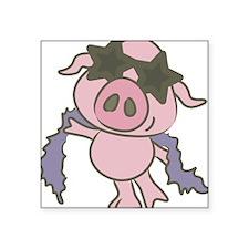 Pig Star Sticker