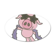 Pig Star Wall Decal
