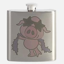 Pig Star Flask