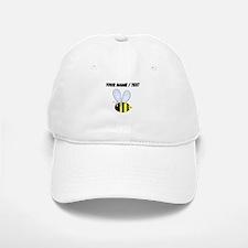 Custom Bumble Bee Baseball Baseball Cap