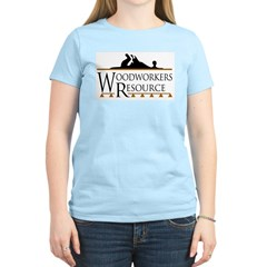 Woodworkers Resource Women's Pink T-Shirt