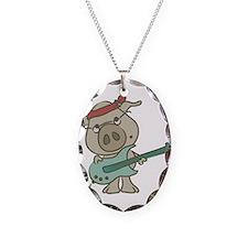 guitar pig Necklace
