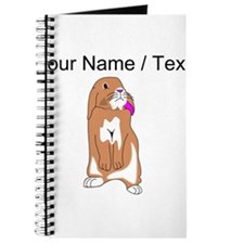 Custom Rabbit Journal