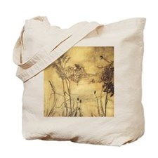 Fairy's Tightrope by Arthur Rackham Tote Bag