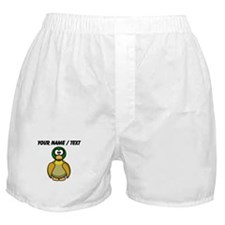 Custom Cartoon Duck Boxer Shorts