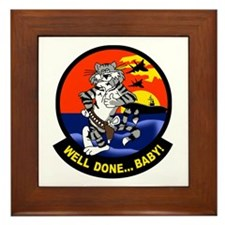F-14 Tomcat Framed Tile