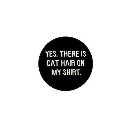 Cat hair Mini Button (100 pack)