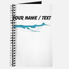 Custom Humpback Whale Journal