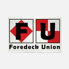 FU Flags Logo Magnets