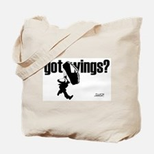 Got Wings Skydiving Tote Bag