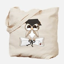 graduation owl Tote Bag