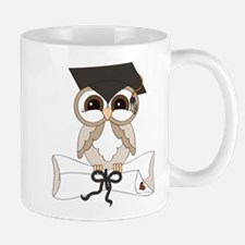 graduation owl Mugs