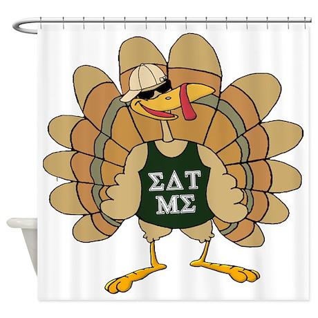 Eat Me Turkey Shower Curtain