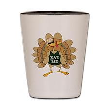 Eat Me Turkey Shot Glass