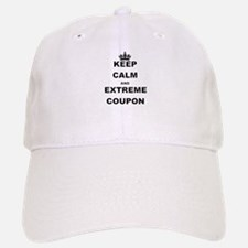 KEEP CALM AND EXTREME COUPON Baseball Baseball Baseball Cap