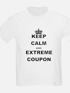 KEEP CALM AND EXTREME COUPON T-Shirt