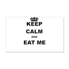 KEEP CALM AND EAT ME Wall Decal