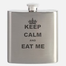 KEEP CALM AND EAT ME Flask