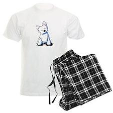 Westie Sweetness Pajamas