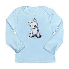 Westie Sweetness Long Sleeve Infant T-Shirt