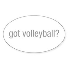 got-volleyball-hel-gray Decal