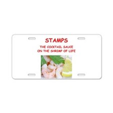 stamps Aluminum License Plate