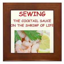 sewing Framed Tile