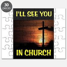 CHURCH CROSS Puzzle