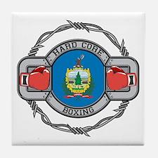 Vermont Boxing Tile Coaster