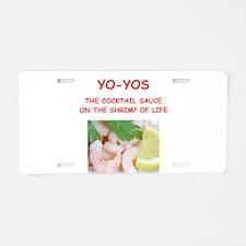 yo yos Aluminum License Plate