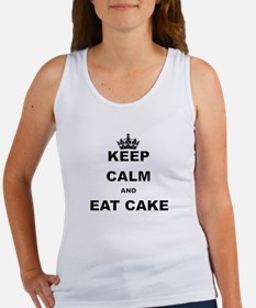 KEEP CALM AND EAT CAKE Tank Top