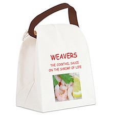 weaver Canvas Lunch Bag