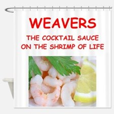 weaver Shower Curtain