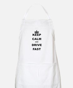 KEEP CALM AND DRIVE FAST Apron