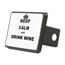 KEEP CALM AND DRINK WINE Hitch Cover