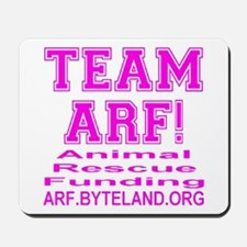 TEAM ARF! Mousepad