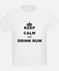 KEEP CALM AND DRINK RUM T-Shirt