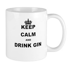 KEEP CALM AND DRINK GIN Mugs