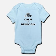 KEEP CALM AND DRINK GIN Body Suit