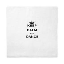 KEEP CALM AND DANCE Queen Duvet