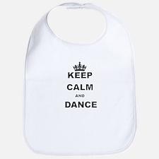 KEEP CALM AND DANCE Bib