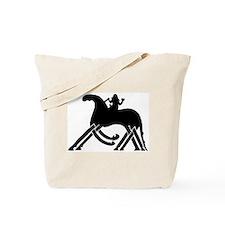 Odin on Sleipnir Tote Bag