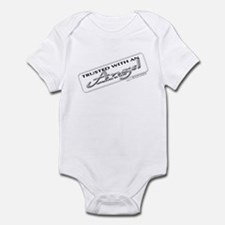 Trusted with an Angel Infant Bodysuit