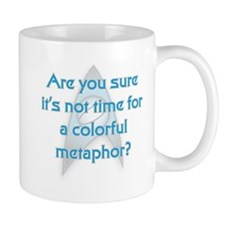 Colorful Metaphor Mugs