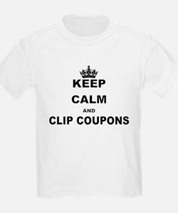 KEEP CALM AND CLIP COUPONS T-Shirt