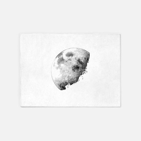 Eclipsing Moon 5'x7'Area Rug
