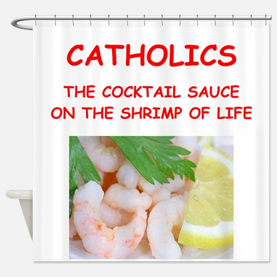 catholic Shower Curtain