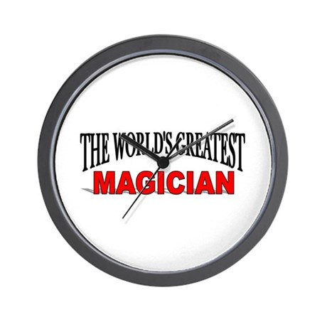 """The World's Greatest Magician"" Wall Clock"